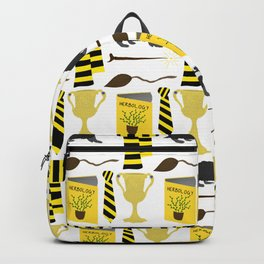 The House of Hufflepuff Pattern Backpack