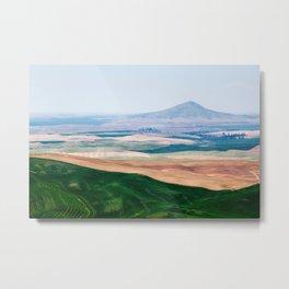 A View of Steptoe Butte Metal Print