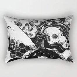 SKULLS DIAPER Rectangular Pillow