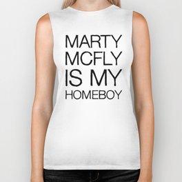 Marty Mcfly is my homeboy Biker Tank