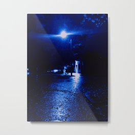 One Rainy Night Metal Print