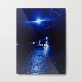 One Rainy Night Metal Print