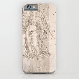 Johann Bayer - Uranometria / Measuring the Heavens (1661) - 25 Virgo iPhone Case