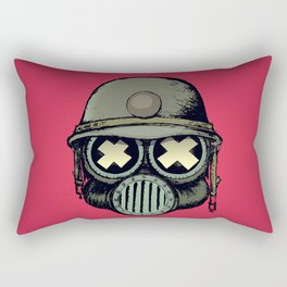 War Skull v2 Rectangular Pillow
