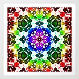 Kaleidoscop Art Print
