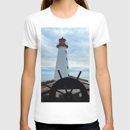 Sailing to Point Prim Lighthouse T-shirt