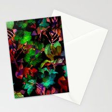 Colorful Floral Pattern Stationery Cards