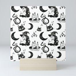 Witch Pattern 2 Mini Art Print