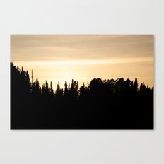 Whyoming Sunset Canvas Print