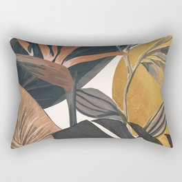 Abstract Tropical Art III Rectangular Pillow