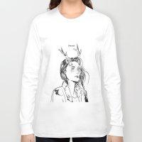 dancer Long Sleeve T-shirts featuring Dancer by Cassandra Jean