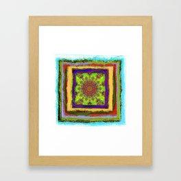 Rustica Mandala (1) Framed Art Print