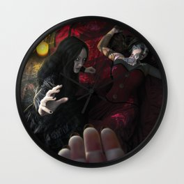 I Shall Guide You Wall Clock