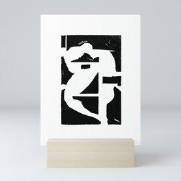 Dancing Spaces 1 Mini Art Print