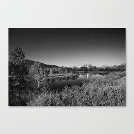 Snake River toward Mount Moran Canvas Print