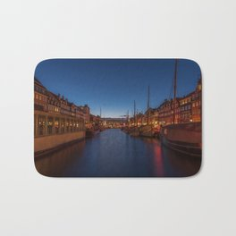 Early evening lights on the Nyhavn Bath Mat