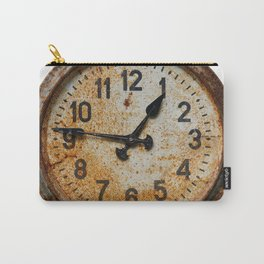 Old wall clock Carry-All Pouch