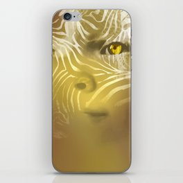 zebragirl iPhone Skin
