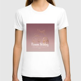 Roman holiday - Audrey Hepburn and Gregory Peck tribute to T-shirt