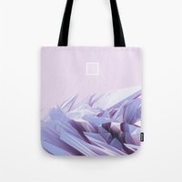 data Tote Bags featuring Data Crystals by memoirnova