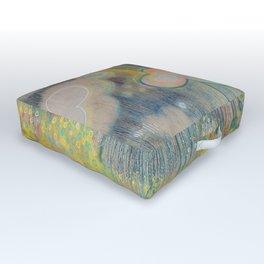 Dreams in Sherbert Outdoor Floor Cushion
