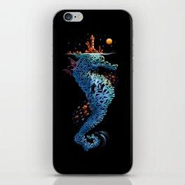 dream in blue iPhone Skin