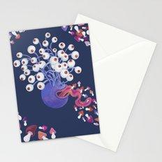 Mushroom Monster Stationery Cards