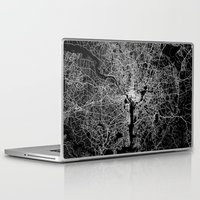 washington Laptop & iPad Skins featuring washington map by Line Line Lines