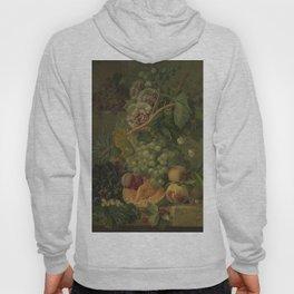 Still Life with Flowers and Fruits, Albertus Jonas Brandt (1816 - 1817) Hoody