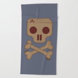 Paper Pirate Beach Towel