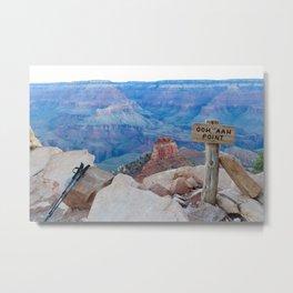 Grand Canyon South Kaibab Trail Ooh Ahh Point Metal Print