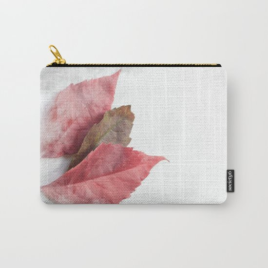 AUTUMN LEAVES #1 #decor #art #society6 Carry-All Pouch