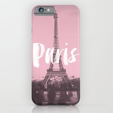 Pink Paris Eiffel Tower iPhone 6 Slim Case