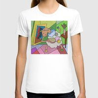 pablo picasso T-shirts featuring Picasso Sheep by BeeHappy