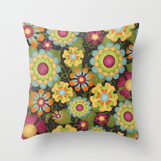 How Does Your Garden Grow? Throw Pillow