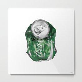 Coca-Cola Life Metal Print