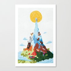 Highest Toilet in the World Canvas Print