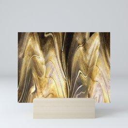 Abstract Gold Mini Art Print