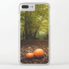 Family Pumpkin Clear iPhone Case