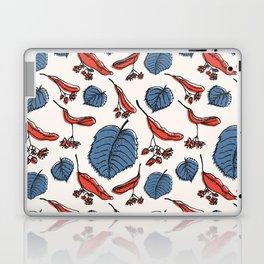 Linden pattern in retro mid-sentury colors Laptop & iPad Skin
