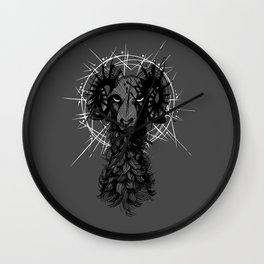 The Ram Wall Clock