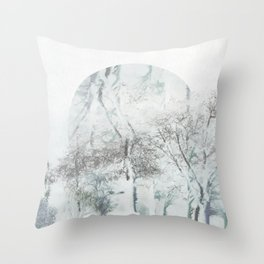 With a Whisper Throw Pillow