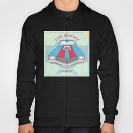 retro car Hoody