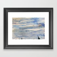 Free flight Framed Art Print