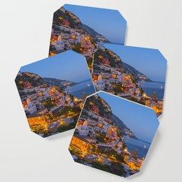 A Serene View of Amalfi Coast in Italy Coaster