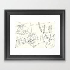 la mueblería de sigfredo Framed Art Print
