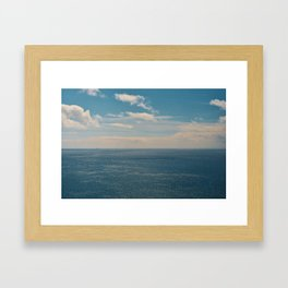 Blue Sky Thinking Framed Art Print