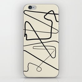 Movements iPhone Skin