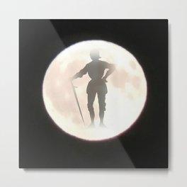 Knight Moon Metal Print