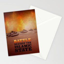 Battle Against The Islamic State Stationery Cards